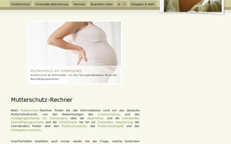 mutterschutz rechner 800x500 - Mutterschutz-Rechner